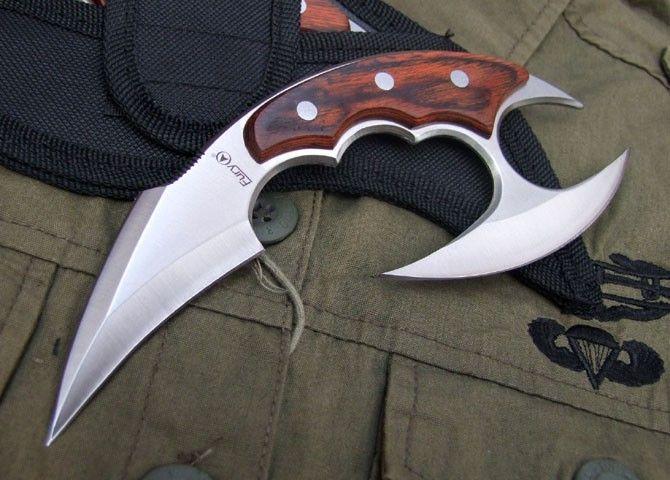 karambit   Fury Double edge Strong Karambit Sharpened, Canada Outdoor knives and ...