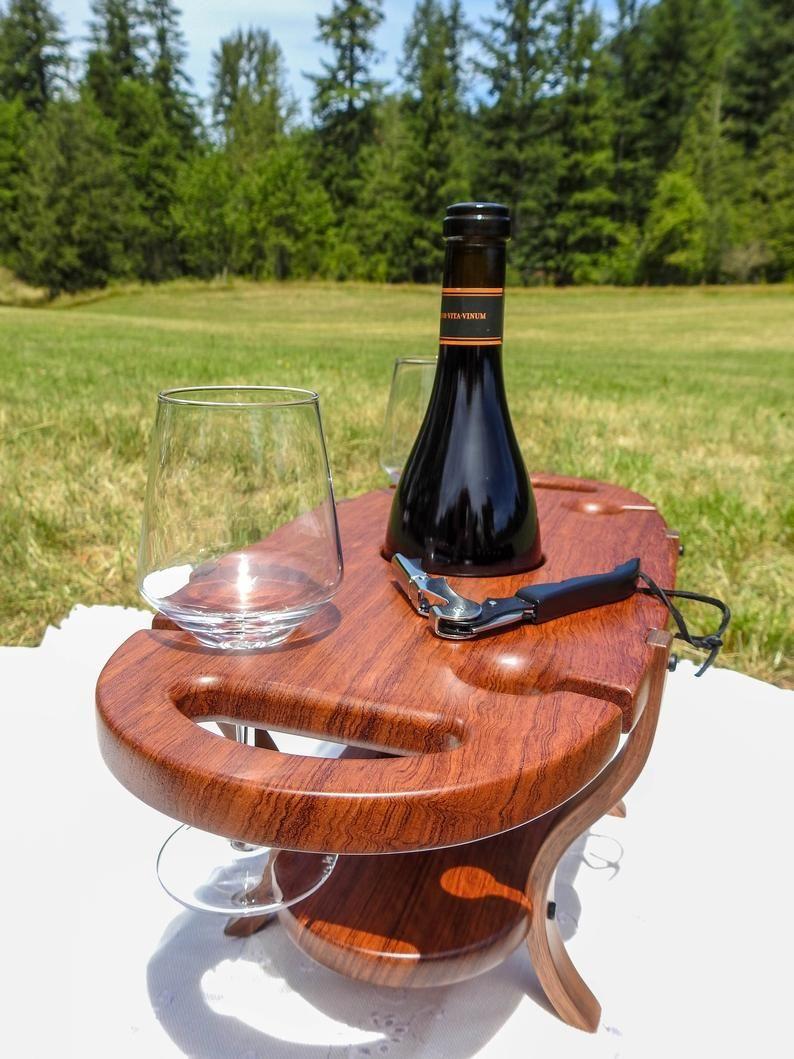 Wooden wine caddy, wine bottle holder, bottle holder …