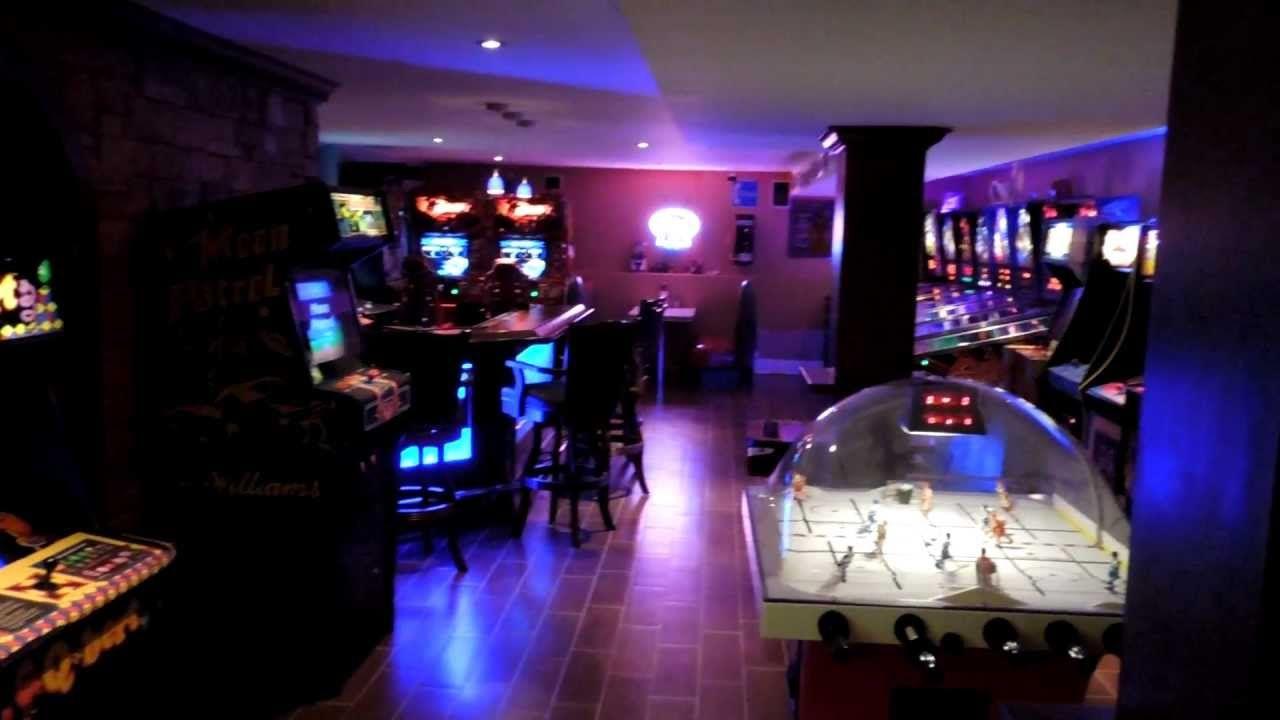 Home Arcade Mancave Ultimate Gameroom Video Game Pinball Game Room Decor Arcade Room Game Room