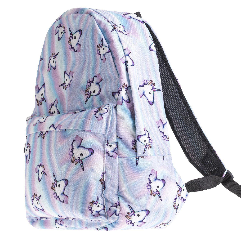 Unicorn School Backpack | Sac, Sac a dos, Azza