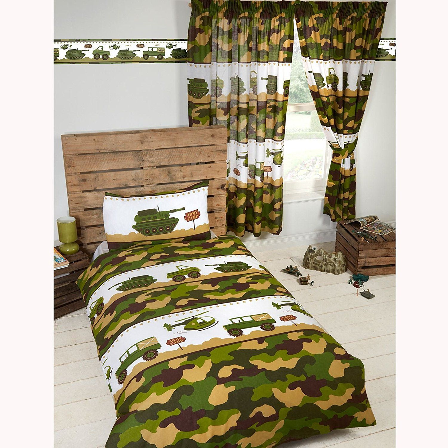 Military Camo Bedding Sets Army Camp 4 In 1 Junior Toddler Bedding Bundle Set Duvet Pillow And Covers Camou Army Bedroom Single Duvet Single Duvet Cover