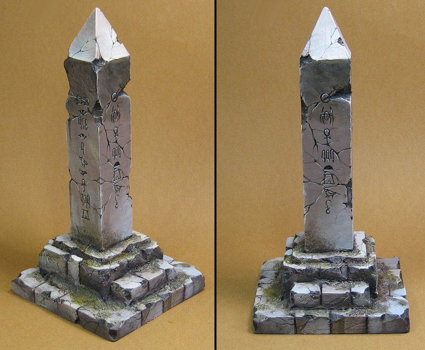 Obelisk *Tabletop Art*