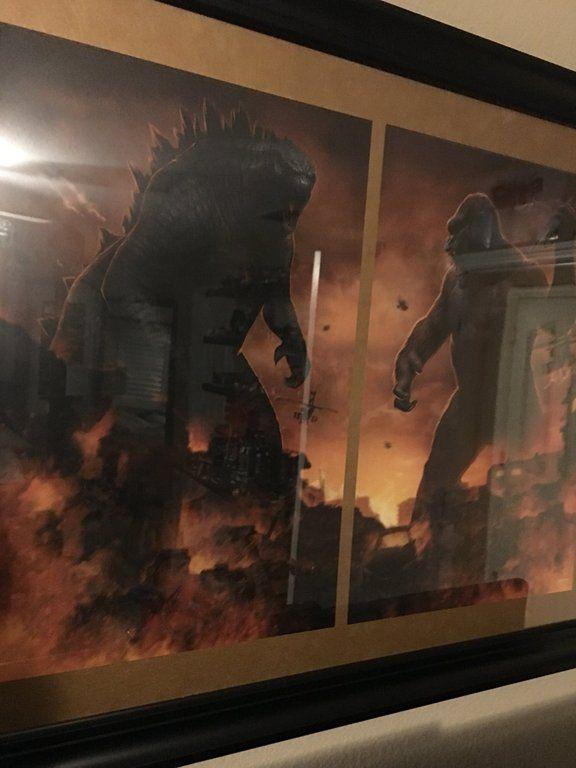 Godzilla vs. Kong artwork (Perfect looking artwork
