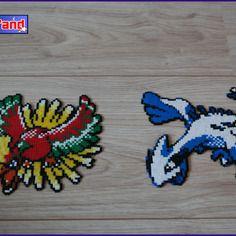 Thème Pokémons Légendaires En Perle Hama Mini Cadeaux