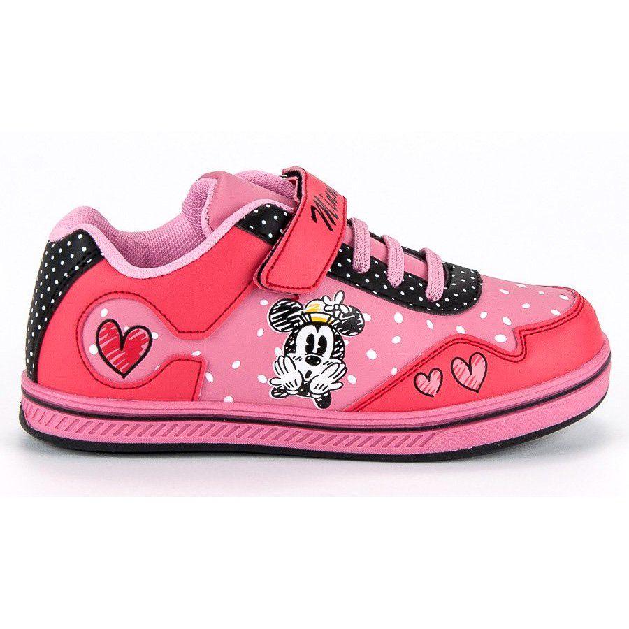 Buty Sportowe Dzieciece Dla Dzieci Butymodne Rozowe Trampki Na Rzep Myszka Miki Butymodne High Top Sneakers Sneakers Shoes