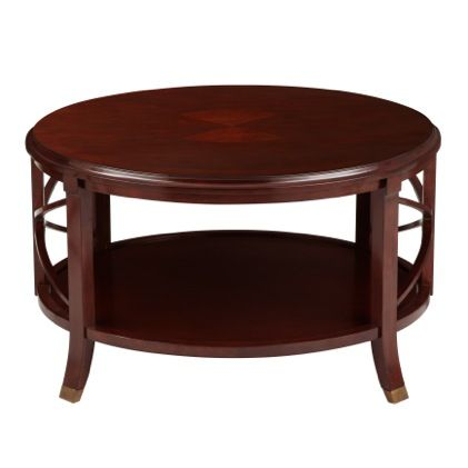 Pavilion Coffee Table Antique Mahogany A Bombay Exclusive The