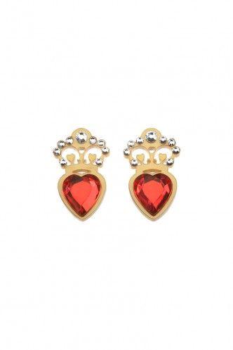 Claddagh Ring Earrings Tatty Devine
