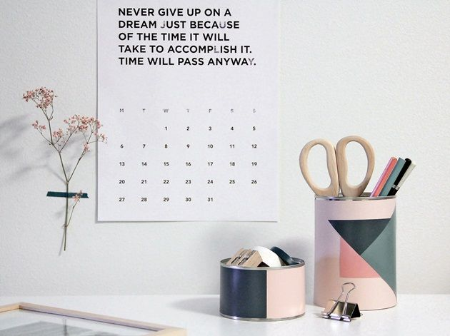 CIRKUS: DIY - piristystä työpöydälle // DIY - pencil holder