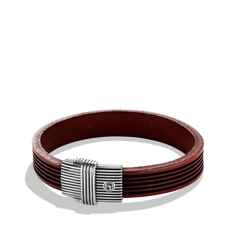 Royal Cord ID Bracelet in Brown