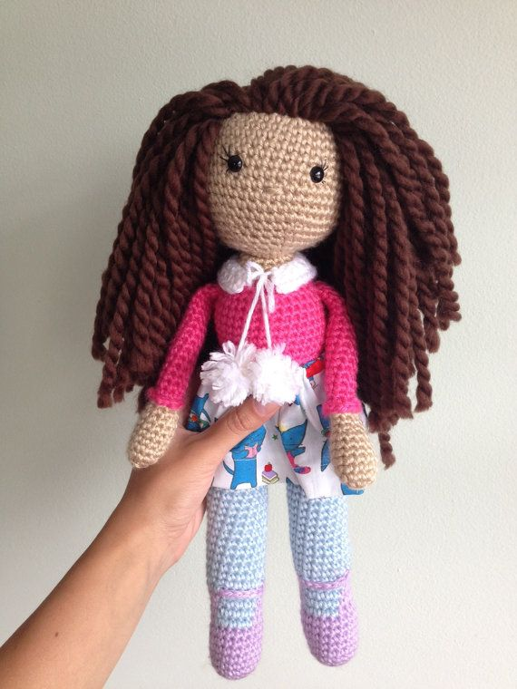 Whimsy the Witch (Free Amigurumi Crochet Pattern) - Baby Bean Doll ... | 760x570