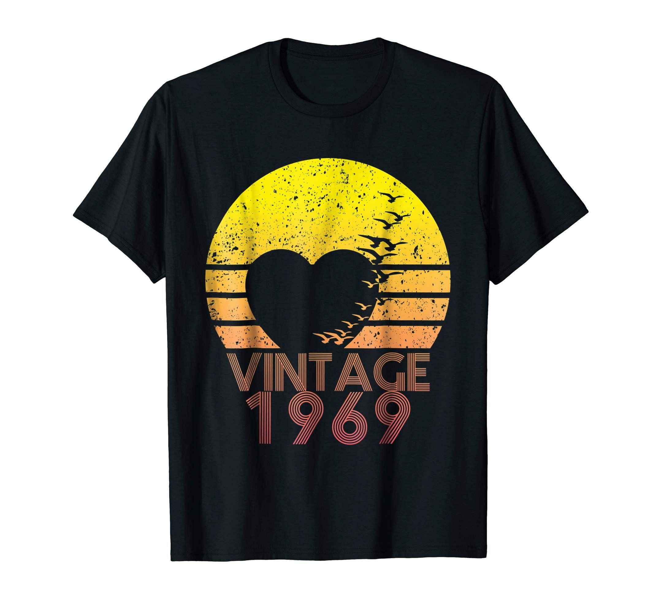 50th Birthday Gift Vintage 1969 TShirt Gift