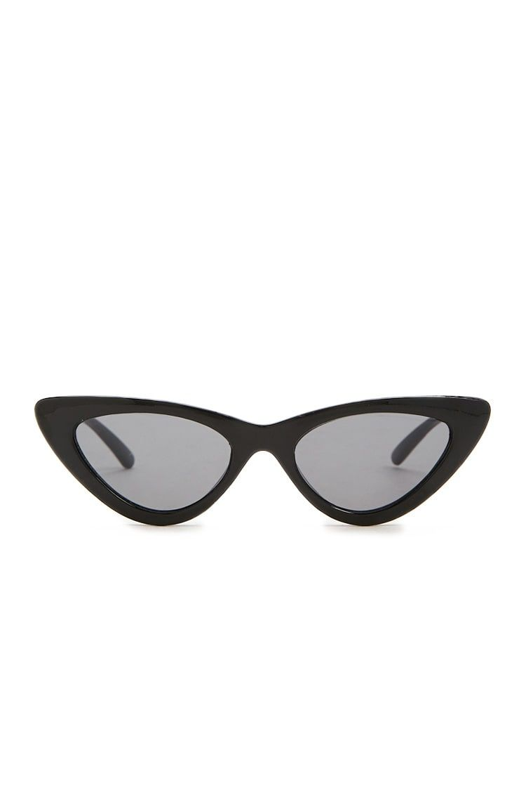 8b28ecb9bc Tinted Cat-Eye Sunglasses in Black