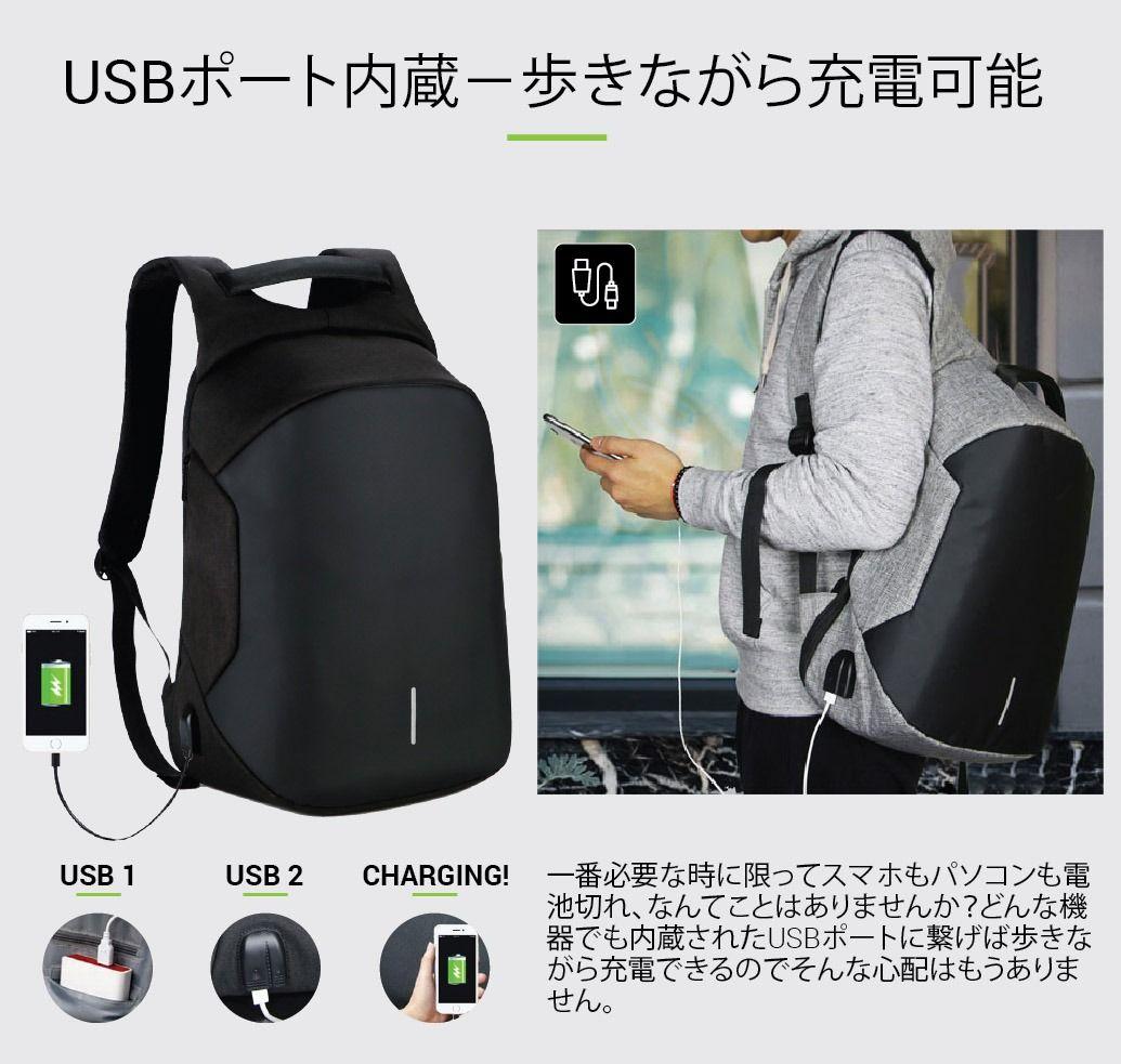 78f1c0b60ef0 Modernist Max II - USB充電ポート付き防水トラベルリュック - Modernist Look