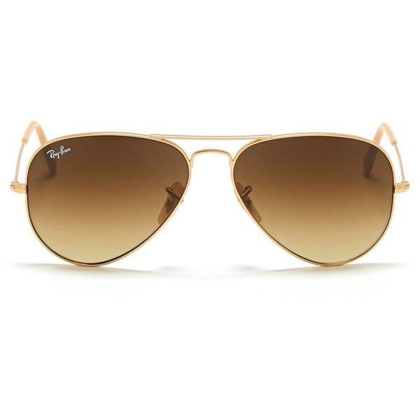 Ray-Ban Large wire aviator sunglasses (670 BRL) ❤ liked on Polyvore featuring accessories, eyewear, sunglasses, glasses, óculos, metallic, aviator sunglasses, metallic sunglasses, wire rimmed glasses and ray ban glasses