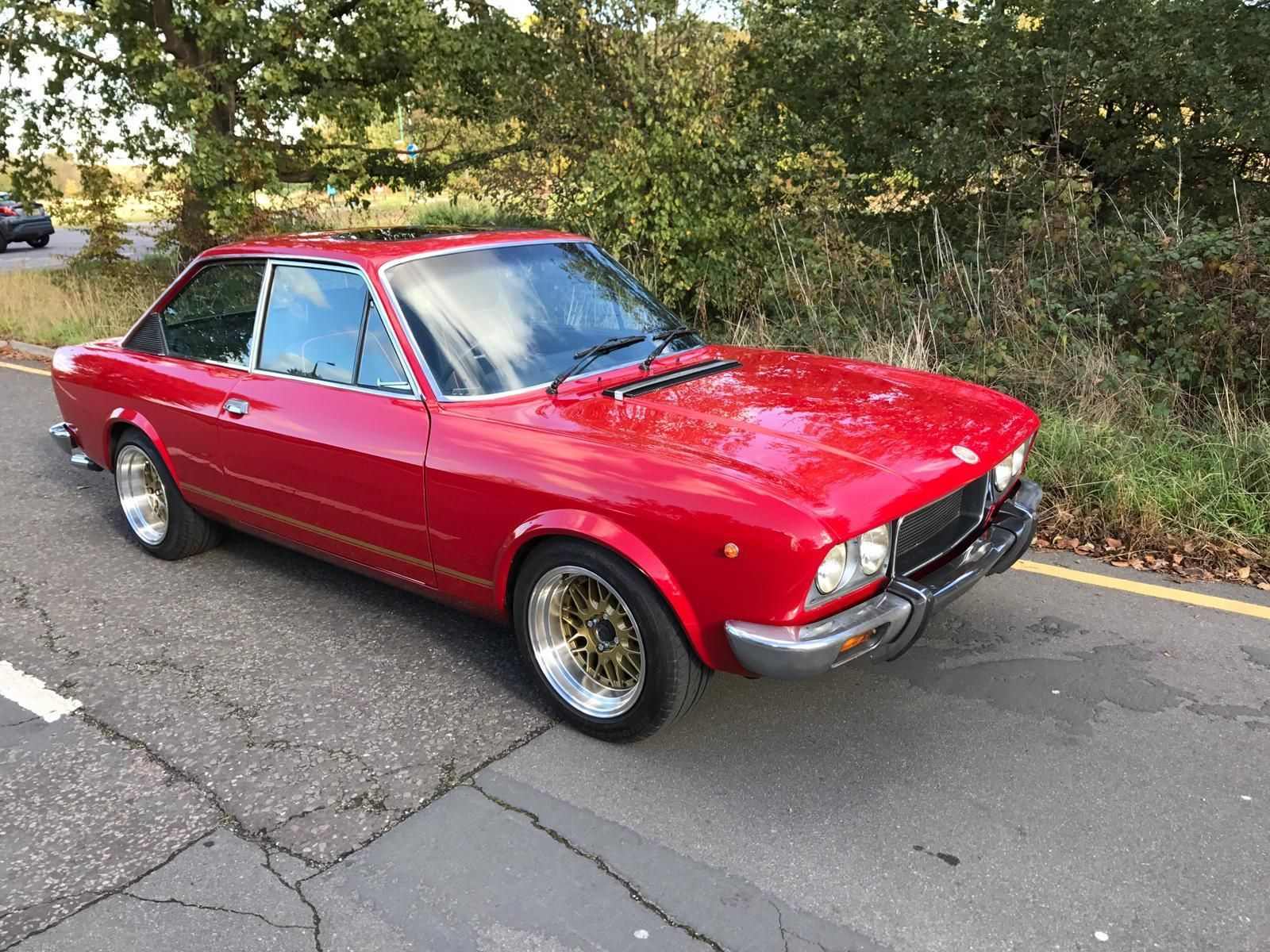 Fiat 124 Sport Coupe 1974 Rare Right Hand Drive Outstanding Ebay