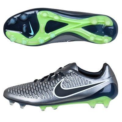 Nike Magista Opus Firm Ground Football Boots Silver Silver Football Boots Sport Shoes Boots