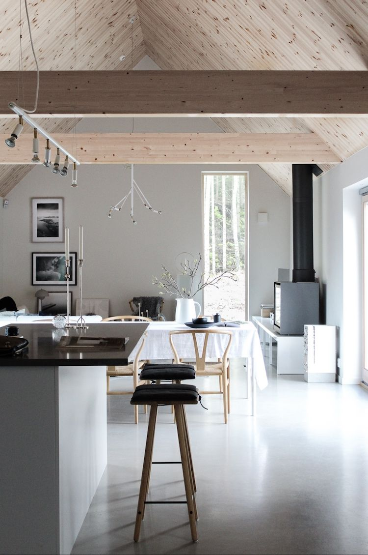 La Maison De La Suede ma maison scandinave: une maison moderne sur la côte ouest
