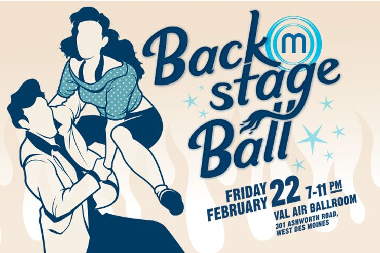 Celebrate local music and raise money for the Greater Des Moines Music Coalition at Backstage Ball on Thursday, February 23. Get tickets or make a donation at http://fundraiser.desmoinesmc.com.