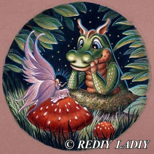 5D Diamond Painting Baby Dragon Story Time Kit in 2019 ...
