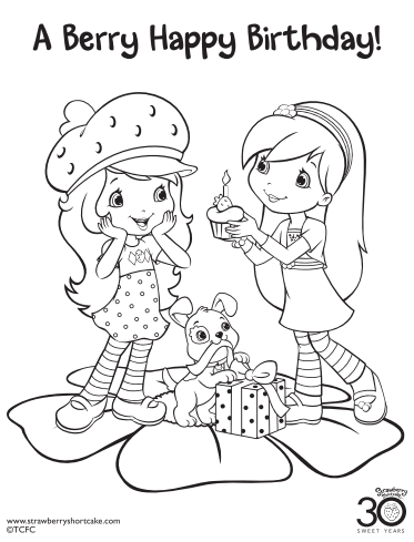 Pin By Shan Rivers On Birthday Strawberry Shortcake Coloring Pages Strawberry Shortcake Party Strawberry Shortcake Birthday