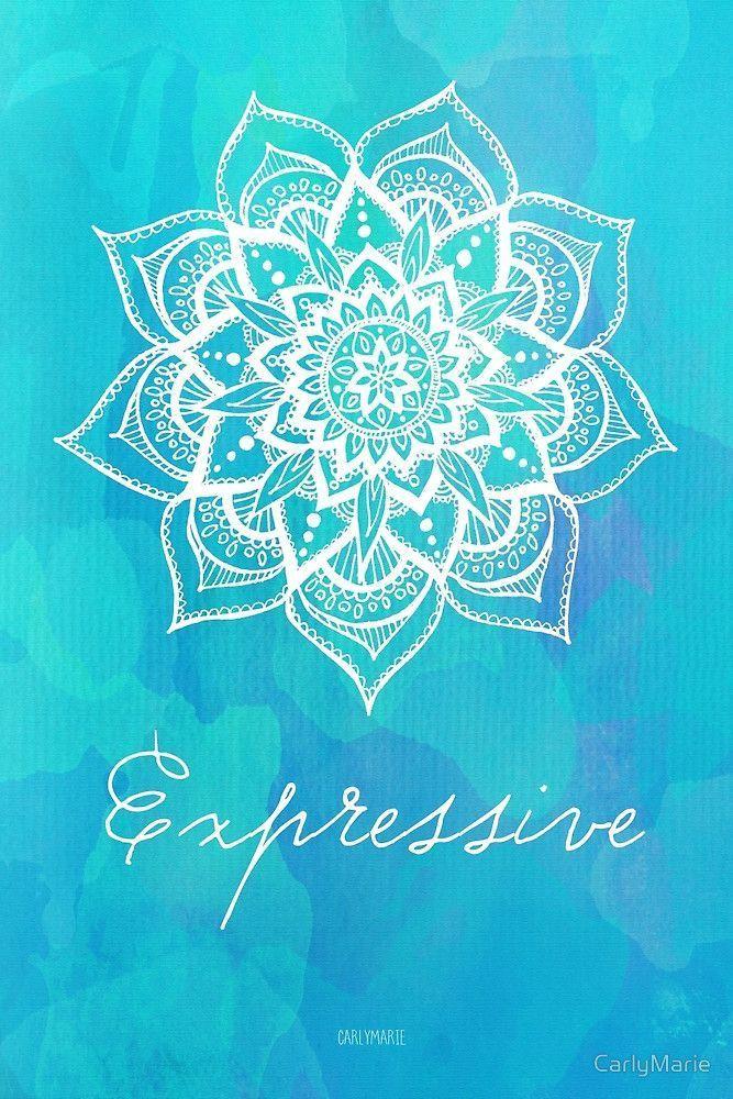 Throat Chakra - Expressive by CarlyMarie | Chakra, Throat chakra, Mandala  art
