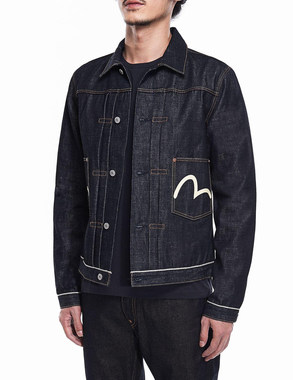 Iconic Japanese Designer Jeans Company Designer Jeans Evisu Denim Jacket [ 1530 x 1180 Pixel ]