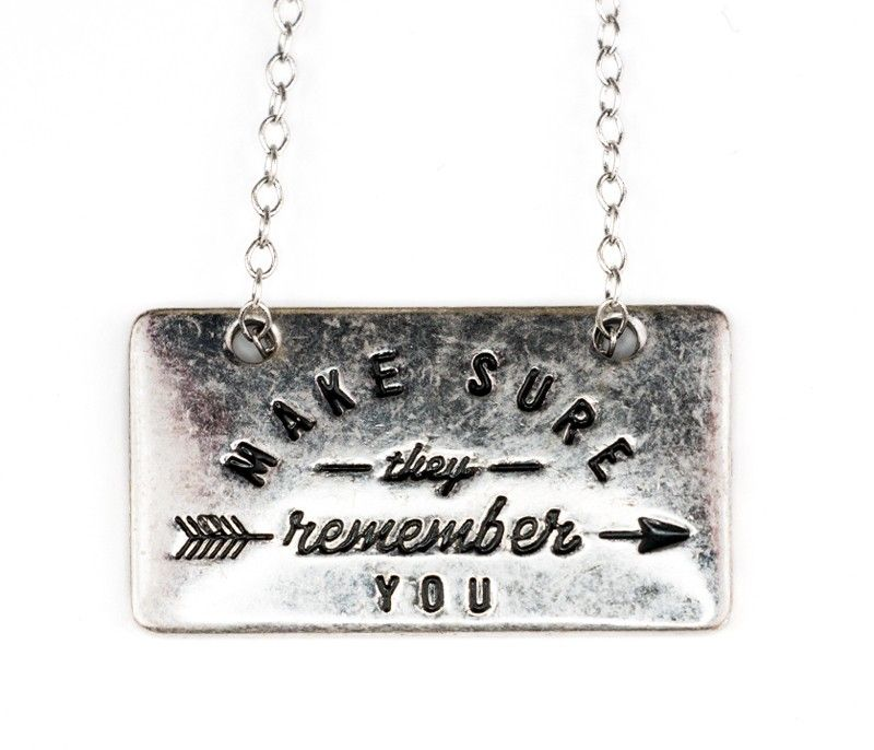 Online Store | Remember You Necklace - Jewelry - Shop By Category The Hunger Games: The Exhibition