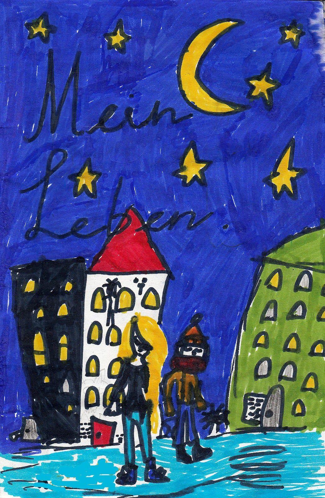 Mein Leben als #Kinderzeichnung, #Kinderzeichnung, #Kinderkunst im Netz, #Kidsart im Netz