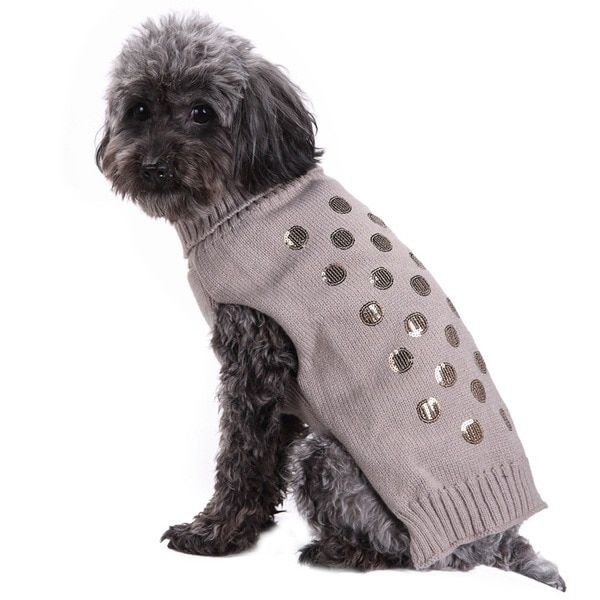 Elegant Scales Embroidered Pet Clothes Autumn And Winter Big Dog