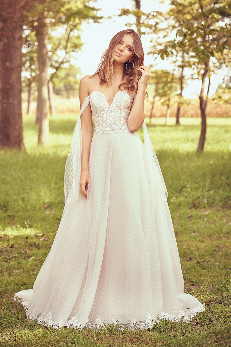 Lillian West 66082 Modern Bride Wedding Gowns Downtown Los