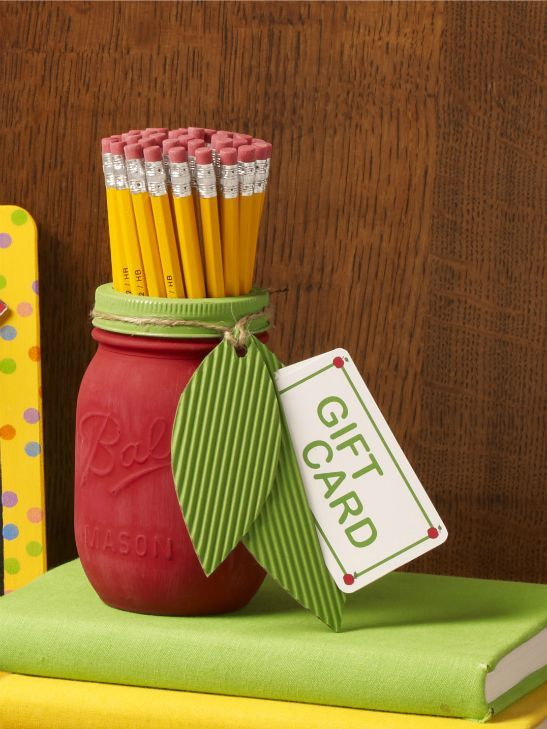 Card Making Ideas For Teachers Part - 48: 20 DIY Teacher Appreciation Gift Ideas For Teachers Appreciation Day Coming  Up This Week! Craft Mason Jars, Mugs, Tea Cups, And Gift Card Holders With  These ...