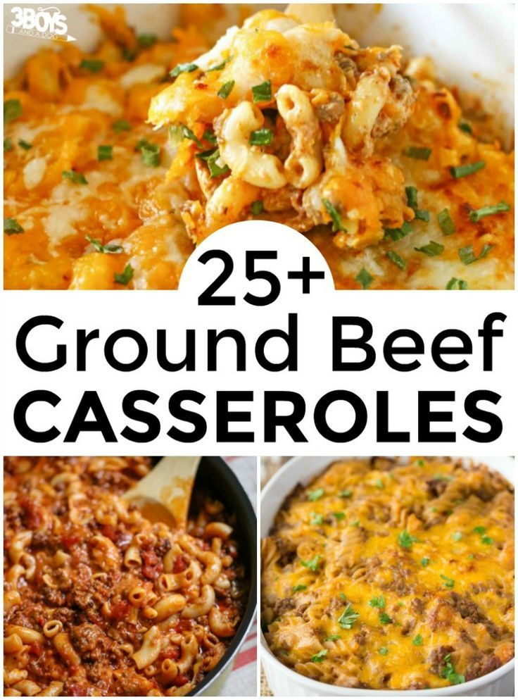 Over 25 Hamburger Meat Casserole Recipes images