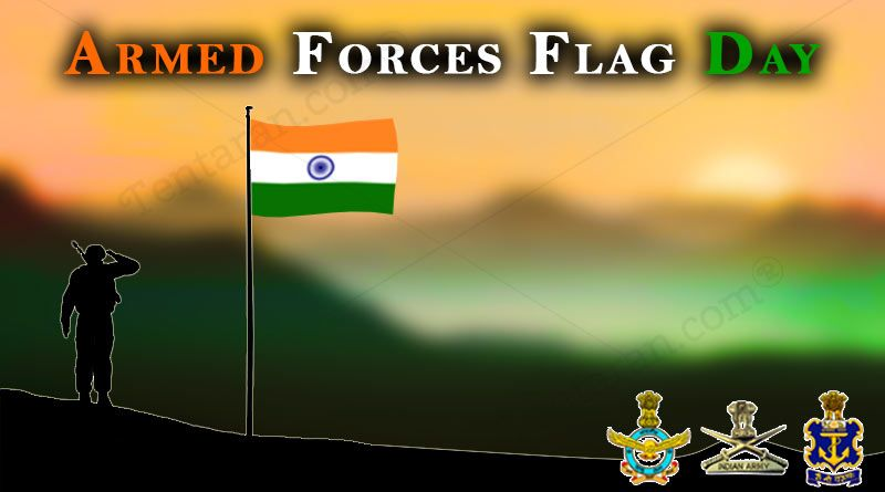 Indian Armed Forces Flag Day Images Quotes Whatsapp Status Wallpaper Armed Forces Flag Day Image Quotes Quote Of The Day