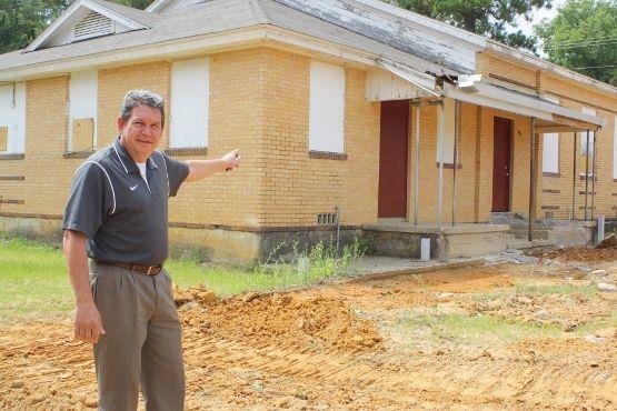 Work begins on Jasper Junior High School project