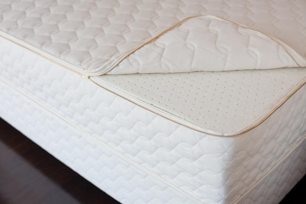 Savvy Rest Organic Serenity Natural Dunlop Latex Mattress Made With Cotton And Wool