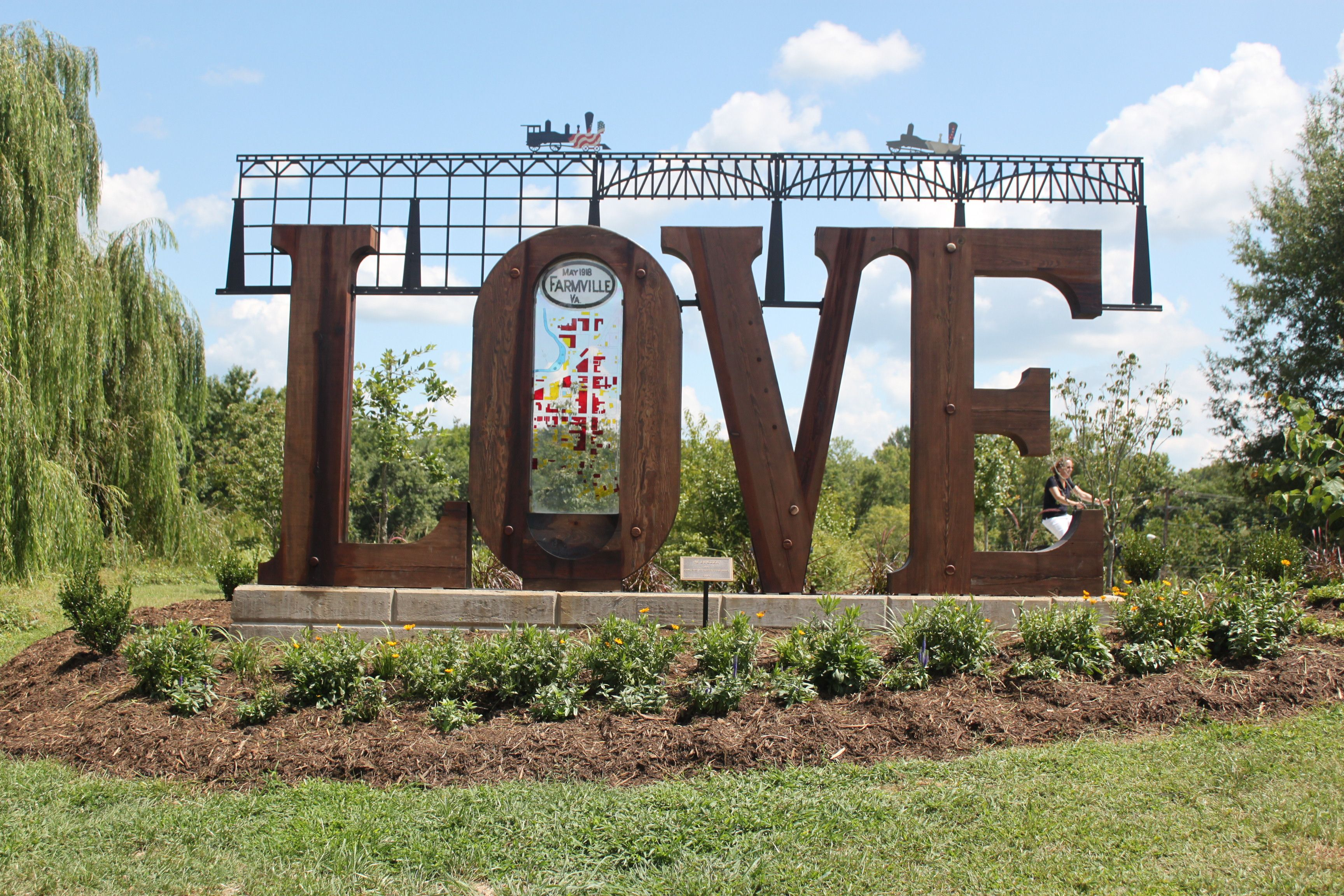 Love from Farmville, VA!