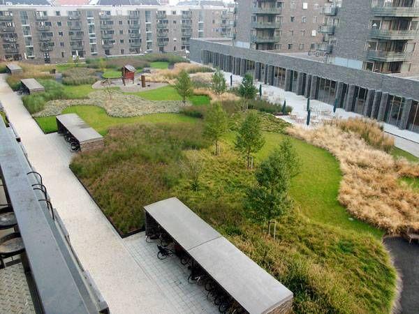 charlotte garden by sla copenhagen denmark landscape pinterest