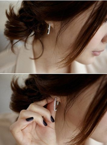Studded Ring Earring – StarryCloset