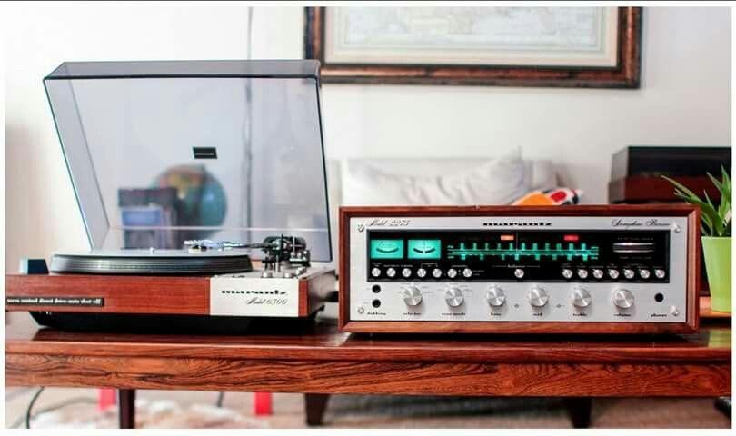 Vintage audio Marantz Hi Fi stereo turntable