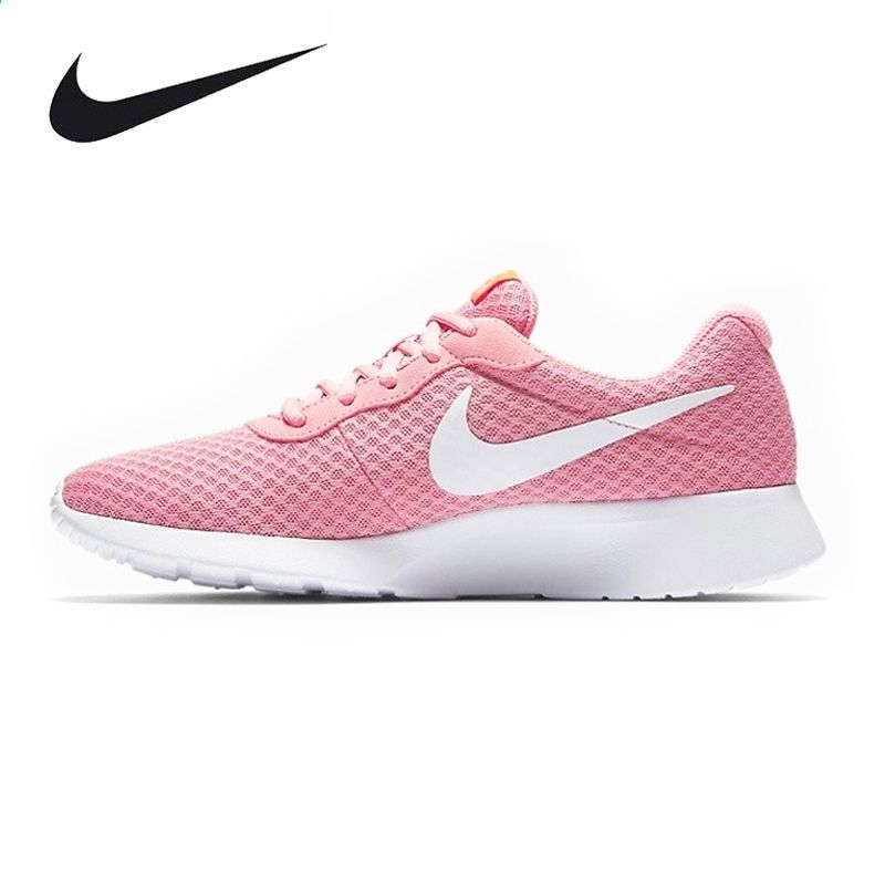 finest selection 1a300 e4344 NIKE Oryginalny Nowy Nabytek Tanjun damskie Buty Do Biegania Roshe Run  Trampki Odkryty Walkng Jogging Sneakers