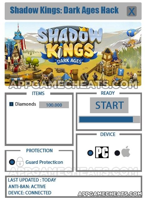 Shadow Kings Dark Ages Hack Cheats For Diamonds 2016 Shadow