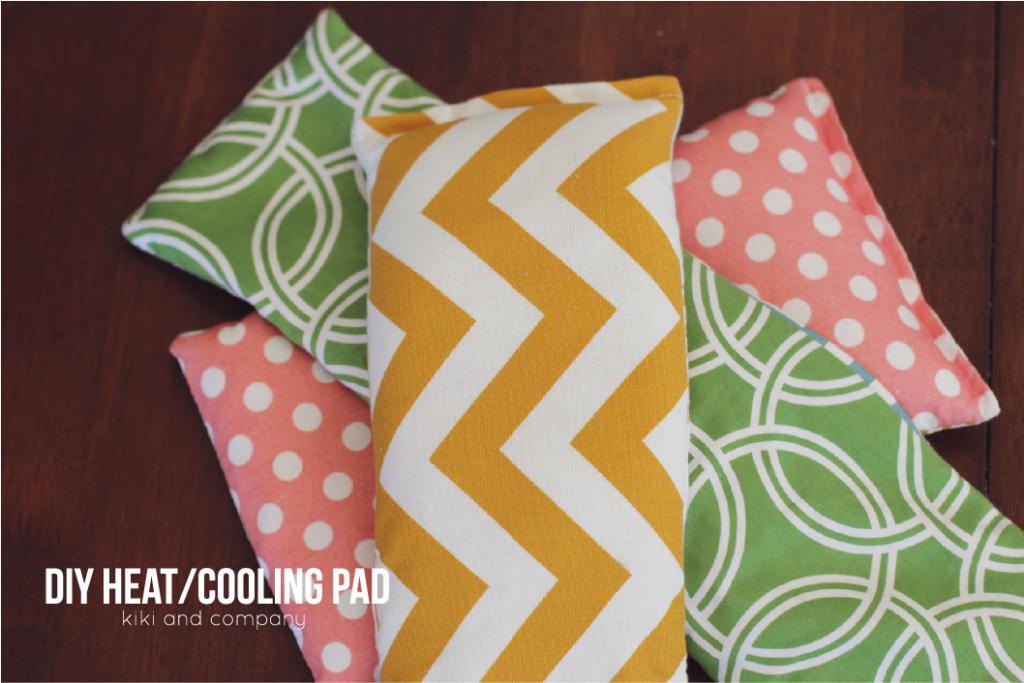 DIY Heating and Cooling Pad::Bloggers Best 12 Days of Christmas