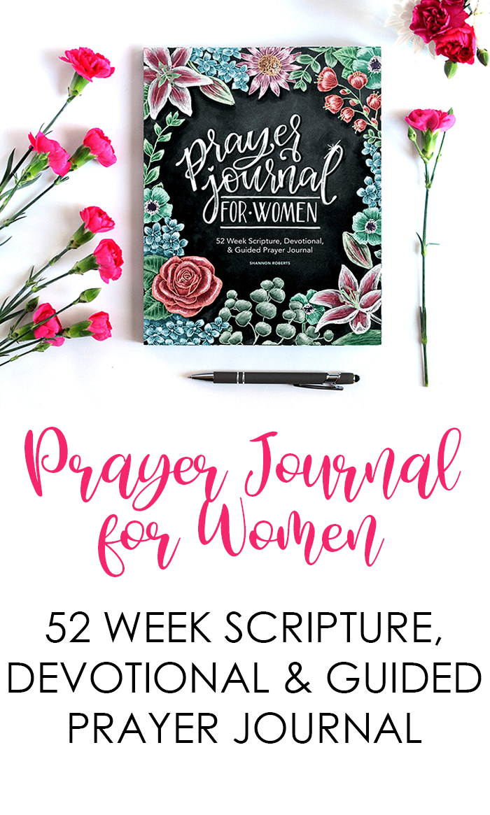 Prayer Journal for Women 52 Weeks Scripture, Devotional