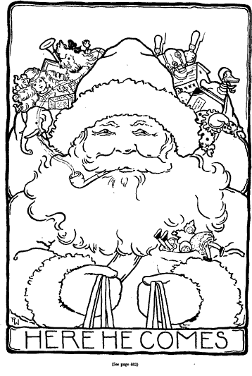 Vintage Santa Coloring Page Santa Coloring Pages Coloring Pages Christmas Embroidery
