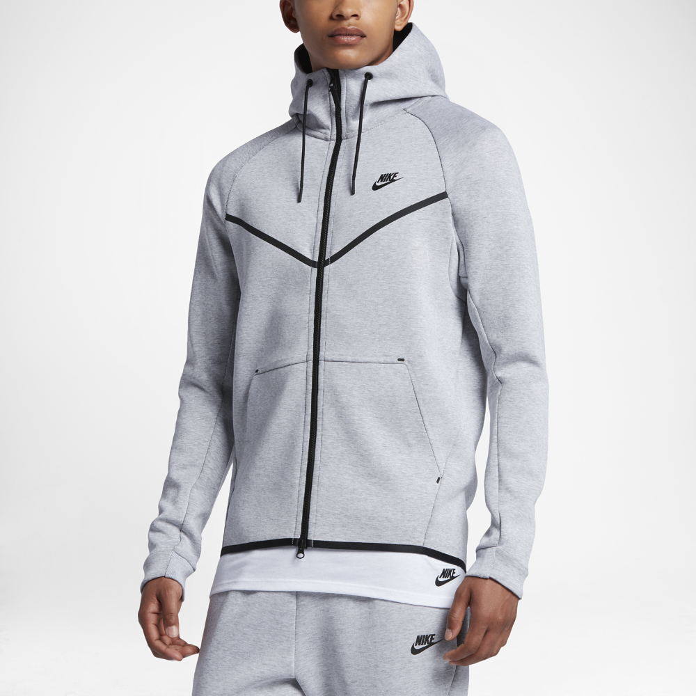 Nike Sportswear Tech Fleece Windrunner Men s Hoodie Size Medium (Grey) 597c328c1