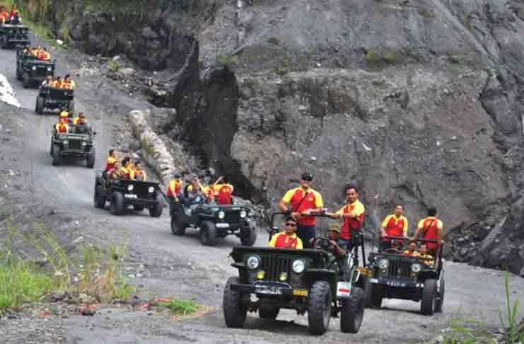 5 wisata ekstrem di sekitar yogyakarta  merapi lava tour