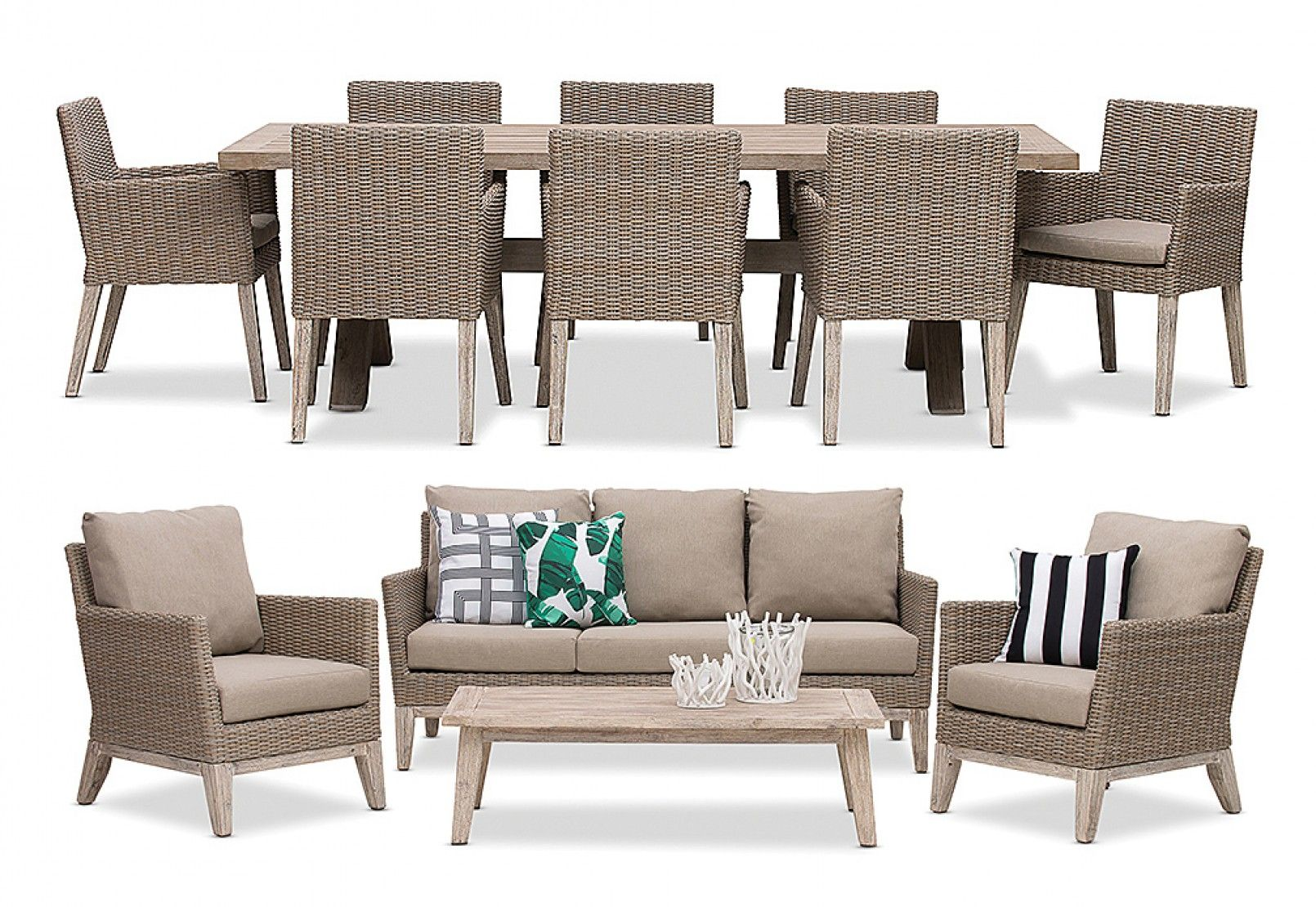 Gryphon 4 Piece Outdoor Lounge Setting | Super A Mart | Outdoor Furniture |  Pinterest | Outdoor Lounge, Living Spaces And Outdoor Living