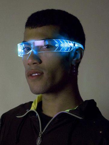Light Up Accessories Cyberdog Cyberpunk Fashion