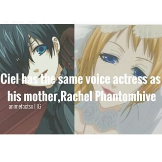 Damn Ciel Is Voiced By A Woman Yeah A Large Amount Of