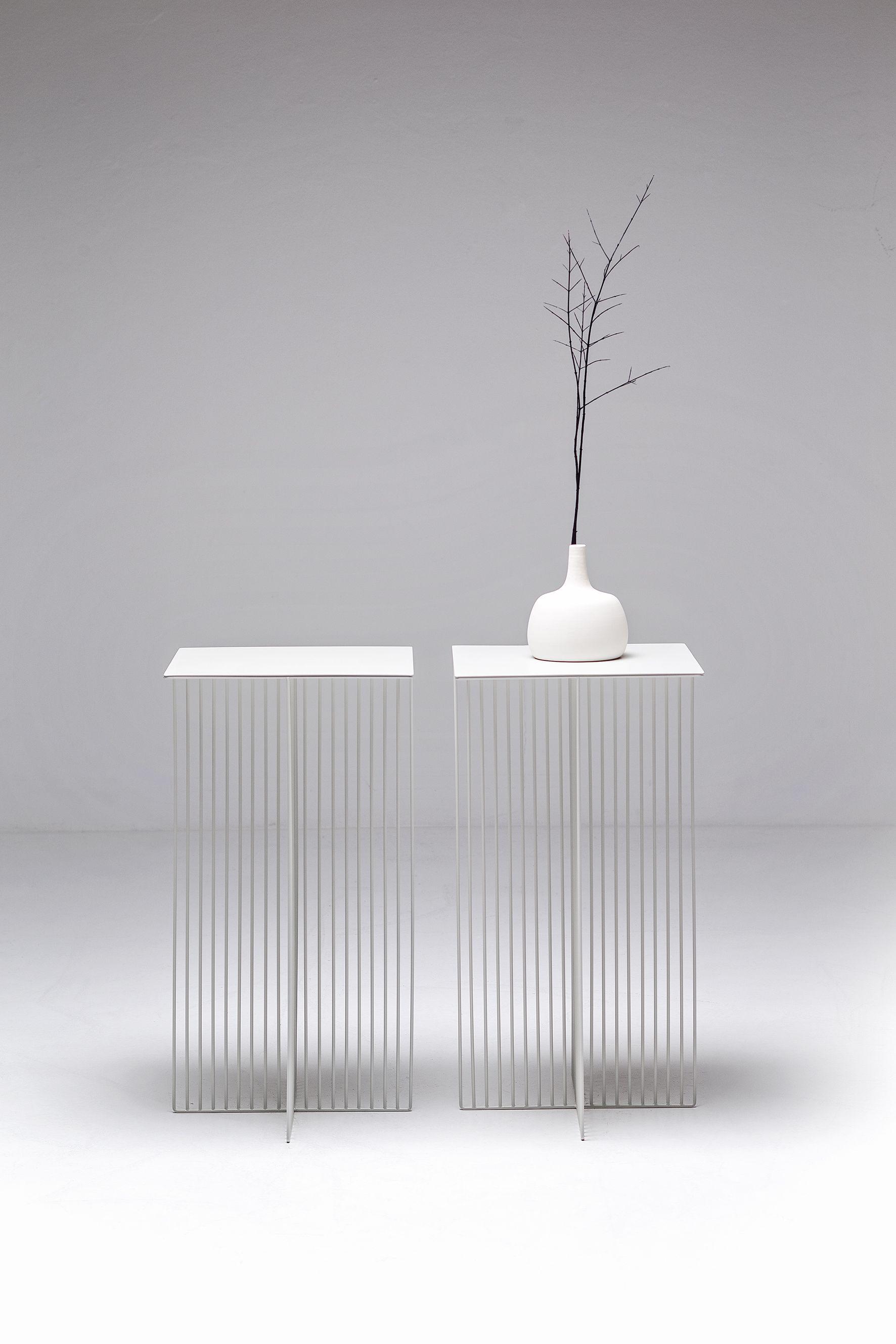 Accursio Tavolino Square Coffee Tables Steel Coffee Table And  # Muebles Janine Bogota